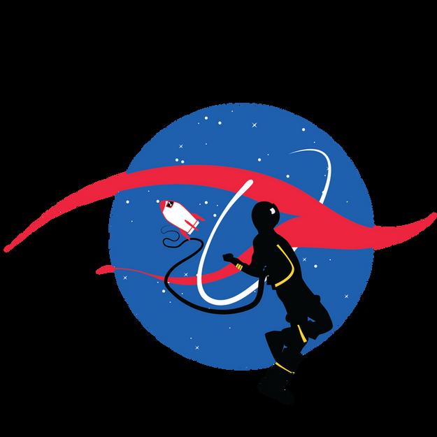Camba HUDDE NASA Shirt Graphic