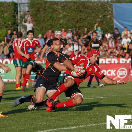 Portugal vs Espanha em Rugby