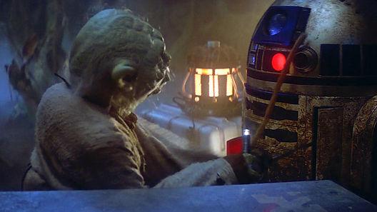 R2D2 y Yoda