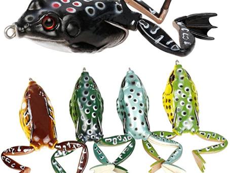 RUNCL Topwater Frog Lures