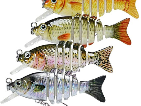 TRUSCEND Segmented Multi Jointed Swimbaits