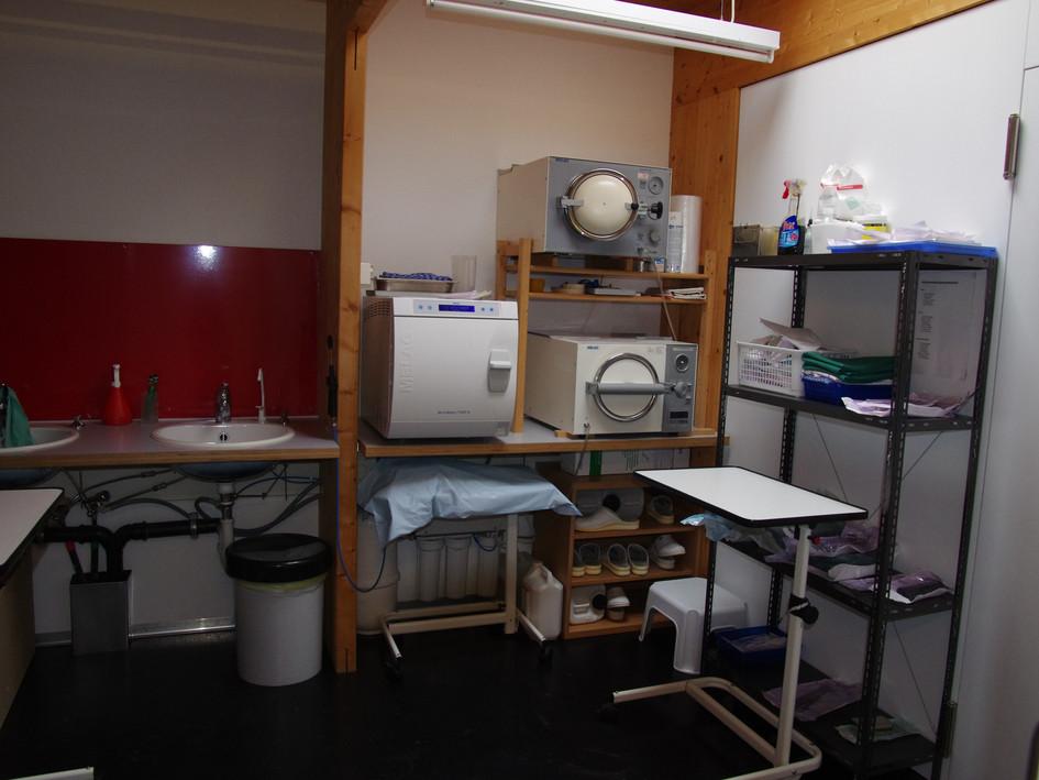 Vorbereitung OP/Sterilisation