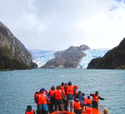 Glaciar Helado y Sarmiento de Gamboa