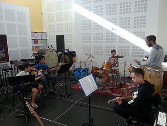 Atelier musique actuelles amplifiées