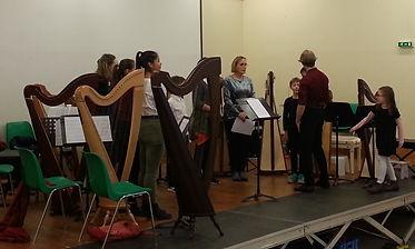 Ensemble Harpe