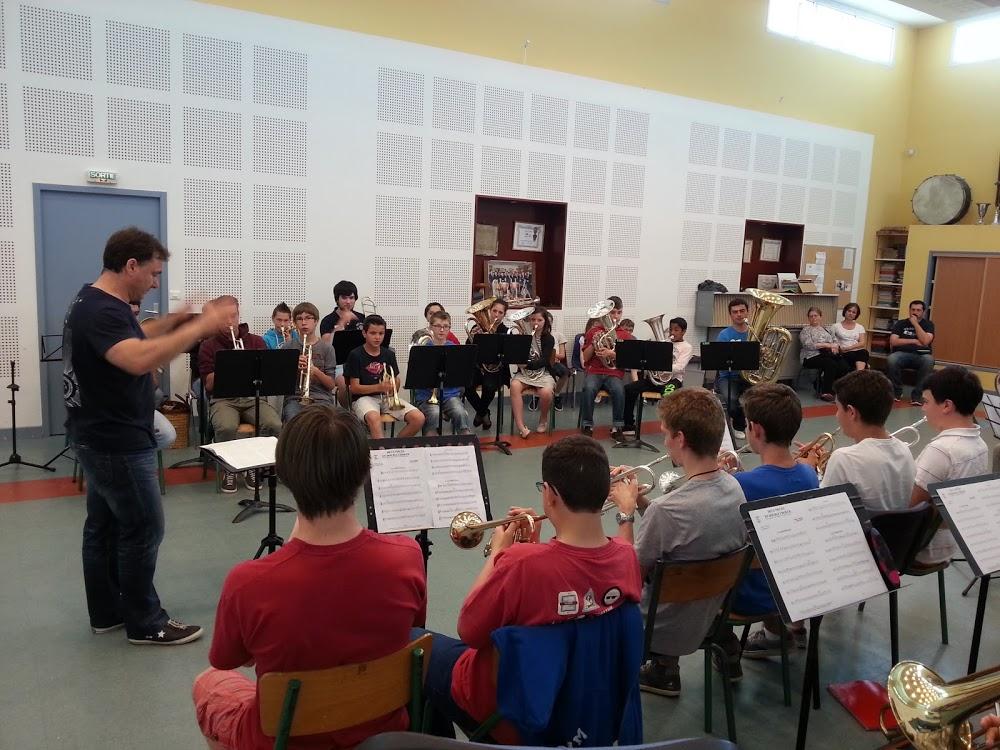 Répétitions Ensemble Cuivres