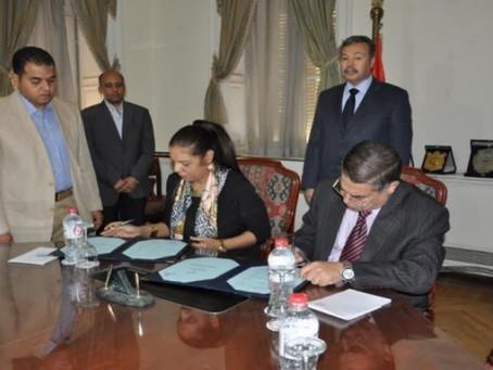 وزارة التعليم توقع مذكرة تفاهم مع المكتب الثقافى المصرى بدولة قطر