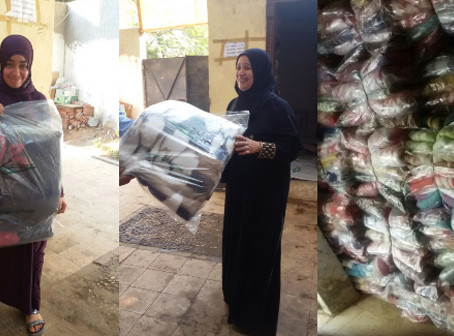 مؤسسة حياة: توزيع 10 الاف بطانية في المحافظات المنكوبة بالبحيرة والاسكندرية وكفرالدوار