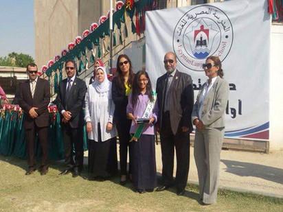 حضور حفل تكريم الطلاب الأوائل بالمدرسة المصرية للغات بالدوحة