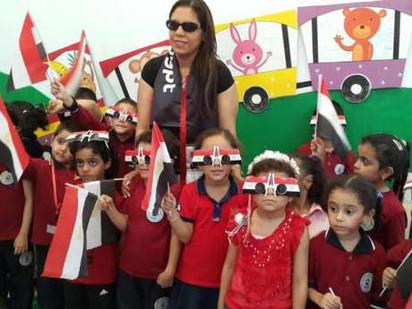 د.راندا رزق: وصول كتب الفصل الدراسي الثاني الى المدرسة المصرية في موعدها