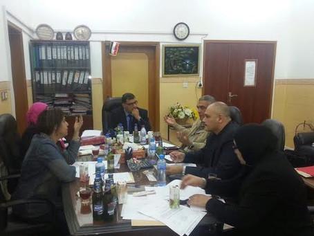 حضور الإجتماع الرابع للجنة تسيير الاعمال بالمدرسة المصرية للغات بالدوحة