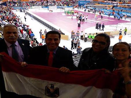 حضور مباراة مصر والجزائر بمونديال اليد