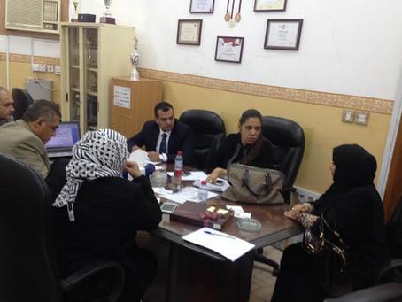 ترؤس الاجتماع الثاني للجنة تسيير الأعمال بالمدرسة المصرية للغات بالدوحة