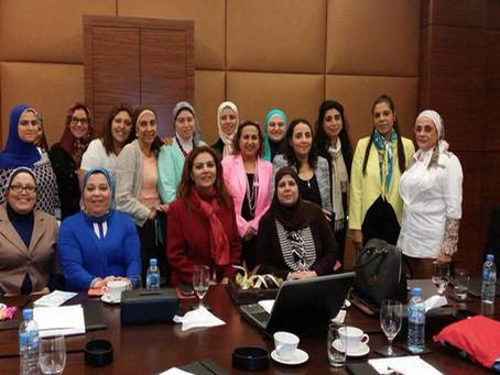 """لقاء رابطة """"السيدات المصريات بالدوحة"""" لبحث تفعيل العمل الاهلي"""