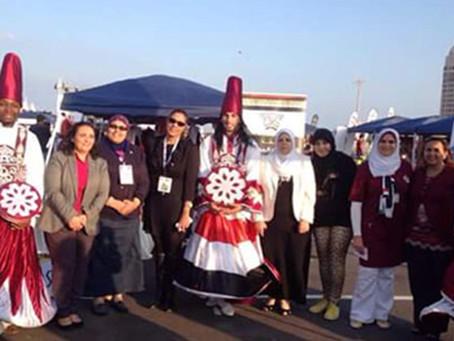 المشاركة في فعاليات اليوم الوطني القطري