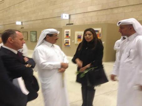 حضور حفل افتتاح معرض الدوحة الدولى الخامس والعشرين للكتاب