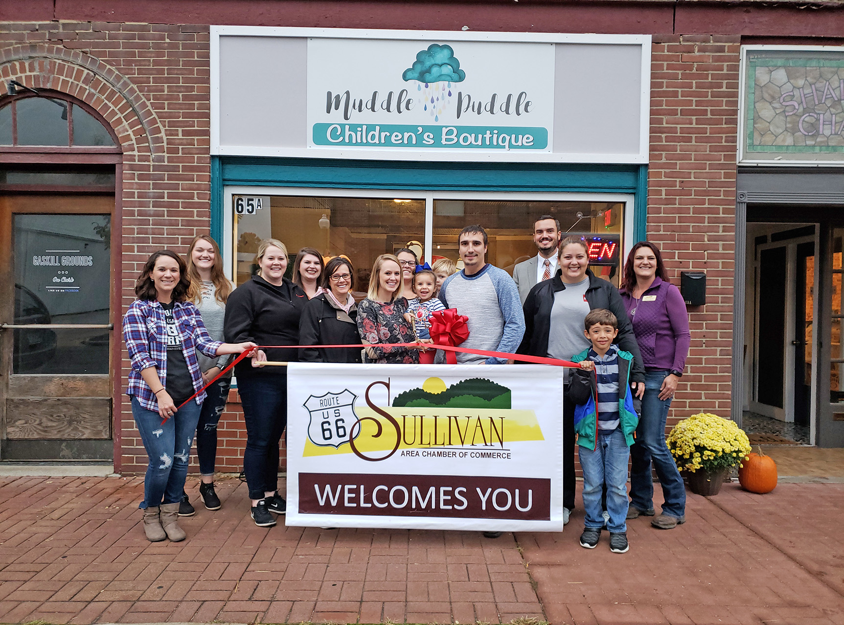 Muddle Puddle Ribbon Cutting-1