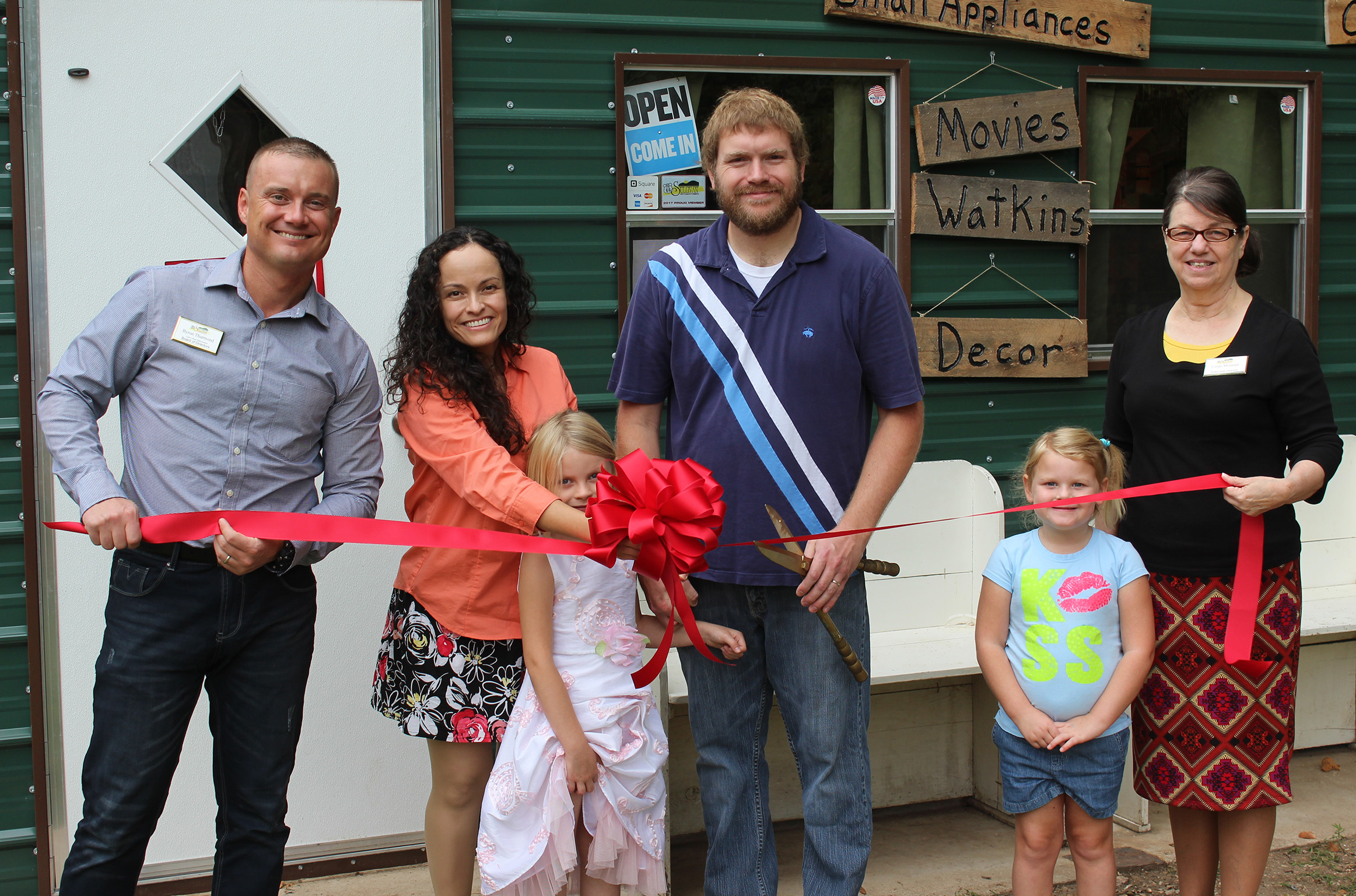 Sleepy Hollow Goods Ribbon Cutting
