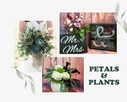 Green and Pink Soft and Dainty Wedding M