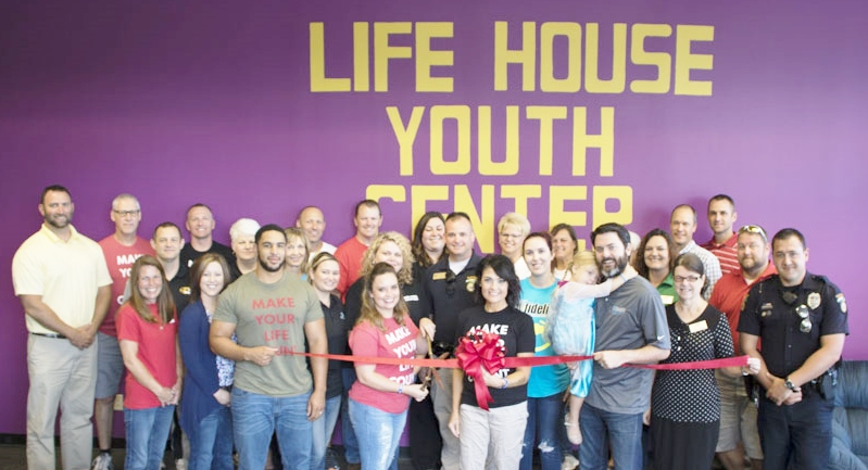 Life House Youth Center Ribbon Cut