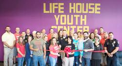 Life House Youth Center Ribbon Cut
