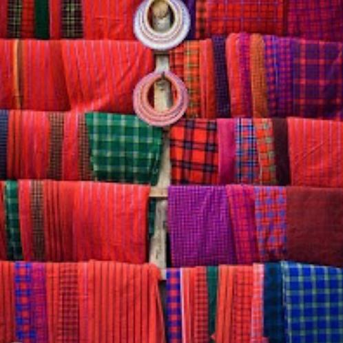 Maasai Shuka Cloth