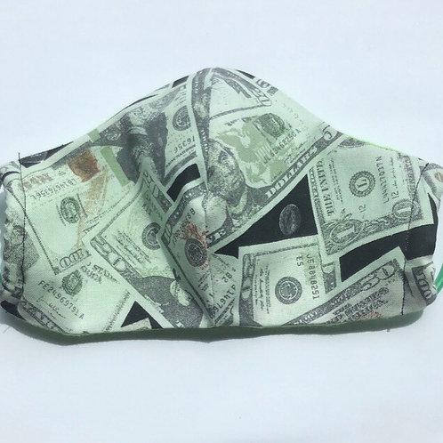 Dollar Face Mask