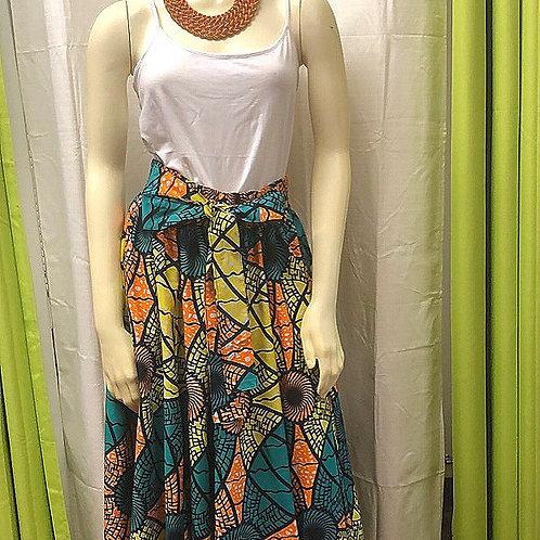 Citrus Long Skirt