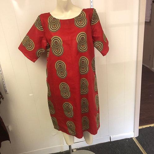 Twin Shift Circle Dress