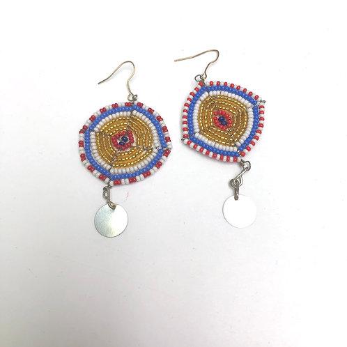 Maasai Bead Earrings