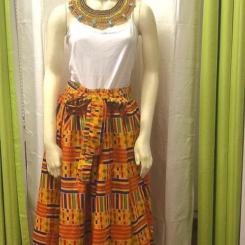 Kente Long skirt