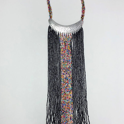 Waterfall Metal Necklace