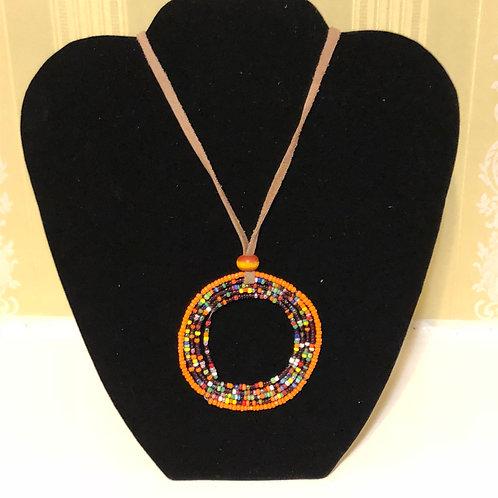 Maasai Beaded Necklace:Large Circle