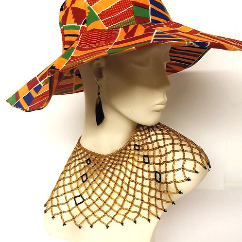 Kente Sun Hat