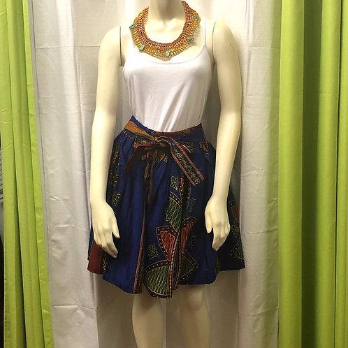 Traditional Navy Short Skirt