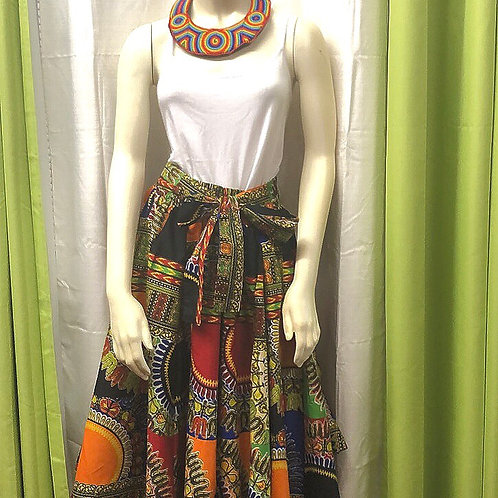 Traditional Patch Skirt