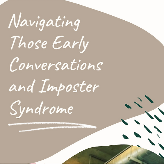 Community Catch Up: Navigating Conversations and Imposter Syndrome