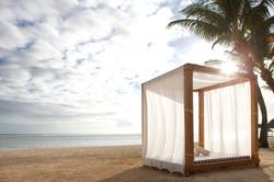 Sunset at Outrigger Mauritius - Beach Cabana.jpg
