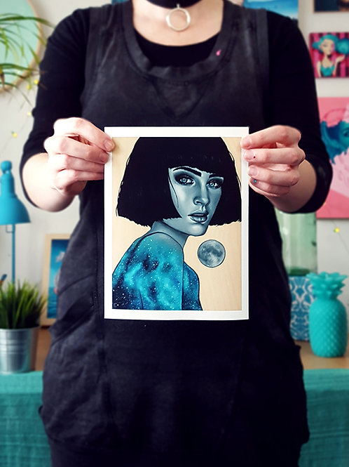 A5 Luminescence Print by Miss E