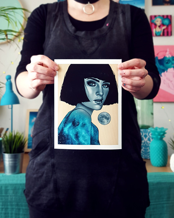 Luminescence Print by Miss E