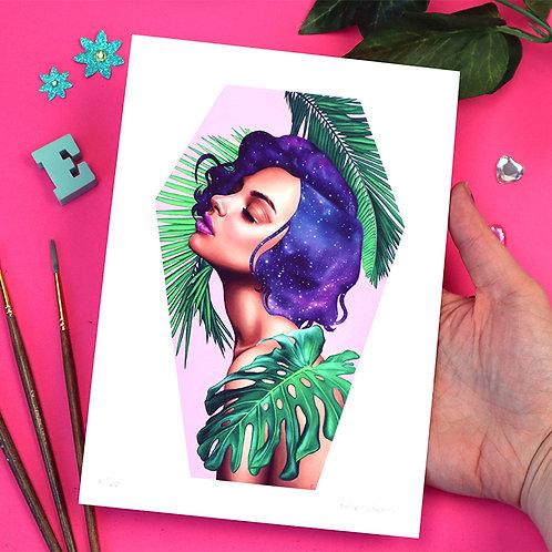 A5 Paradise Print