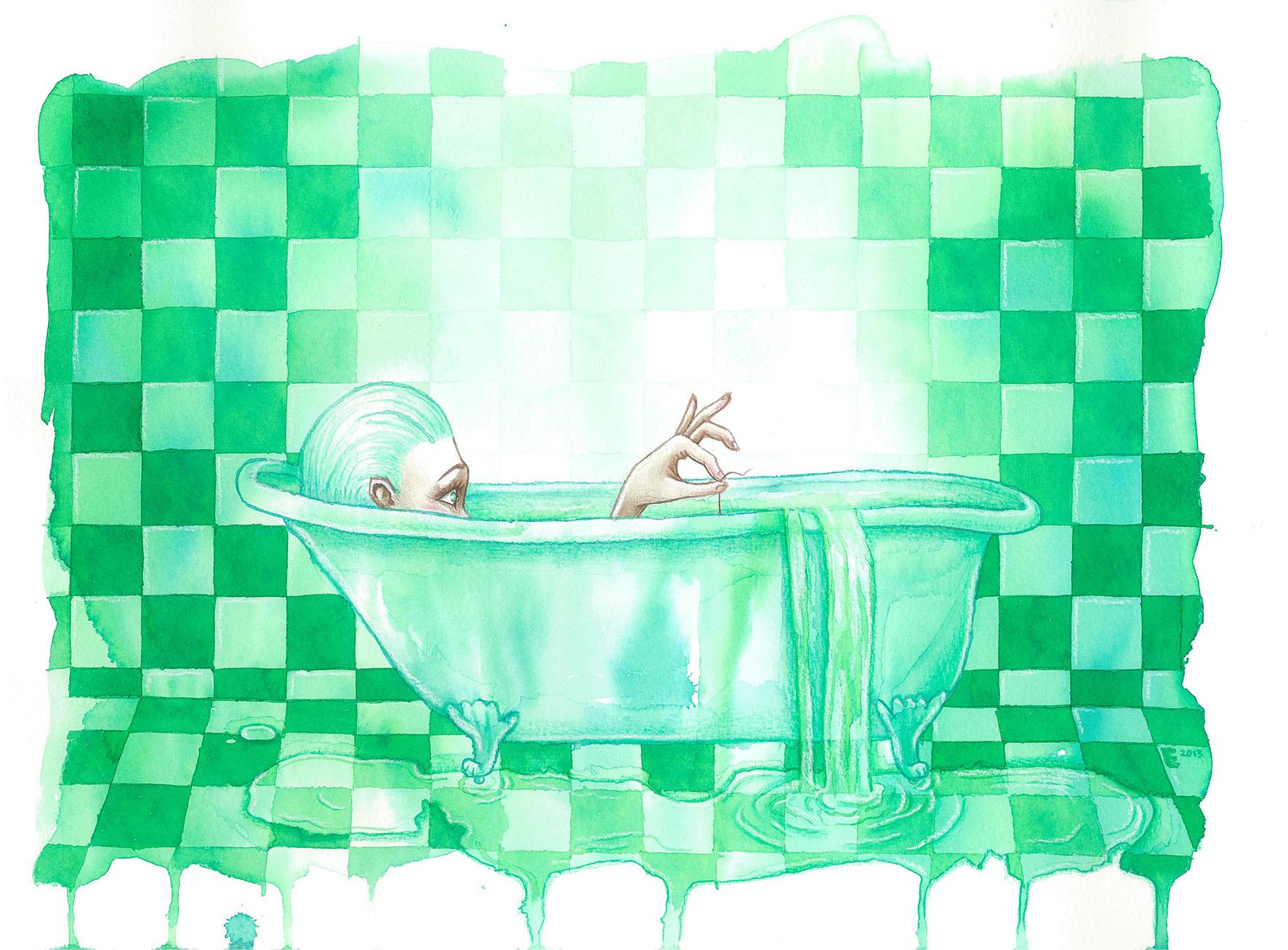 """""""Bath"""" by Miss E"""