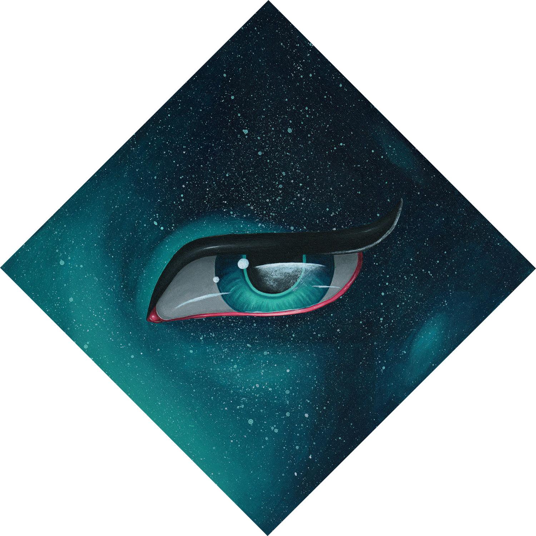 """Galaxy Eye Study"" by Miss E"