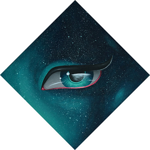 Galaxy Eye by Miss E