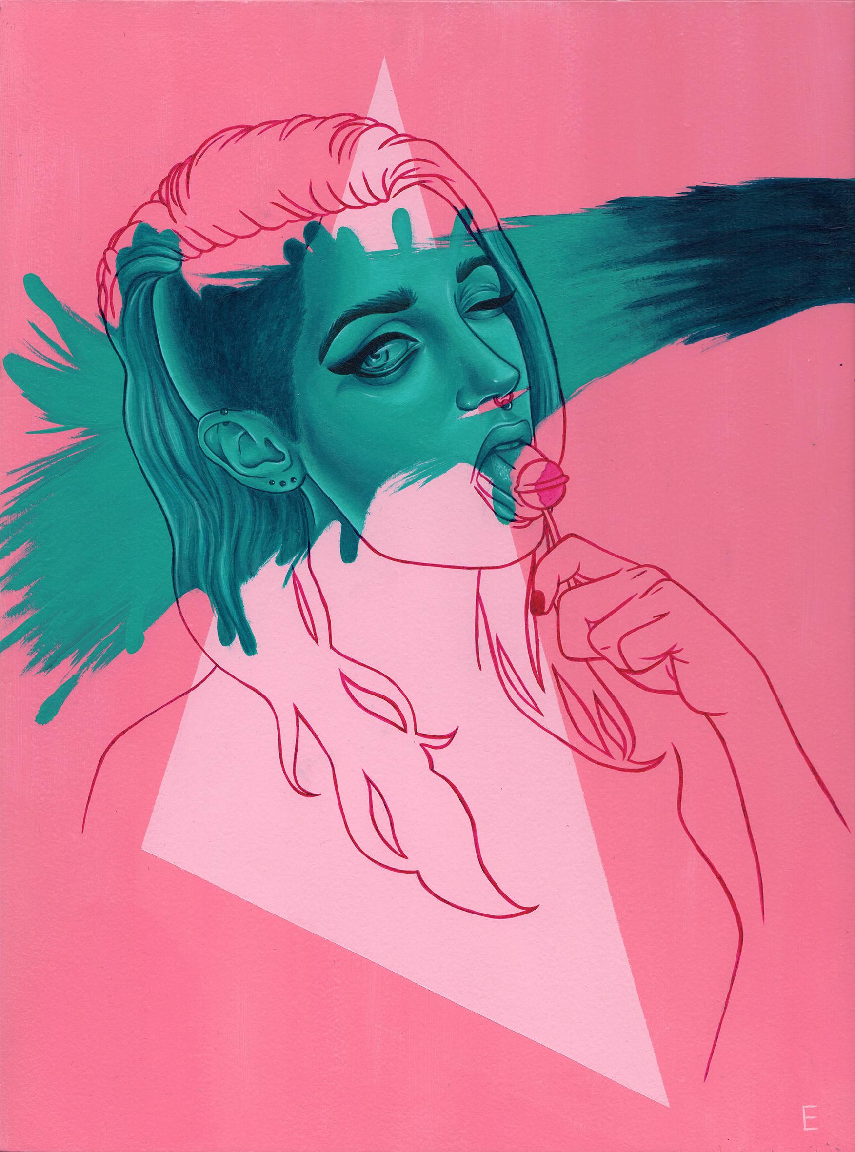 """Poppy"" by Miss E"