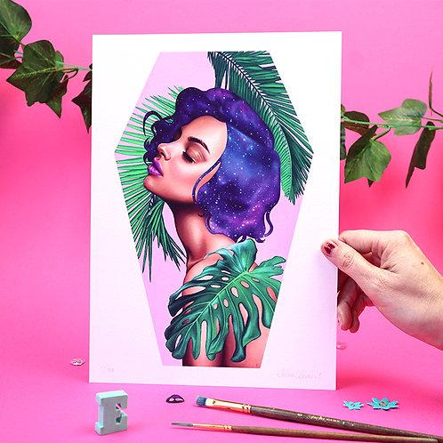 A4 Paradise Print