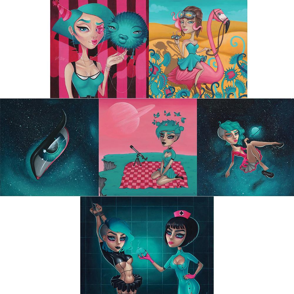 My artwork 2015 - 2016