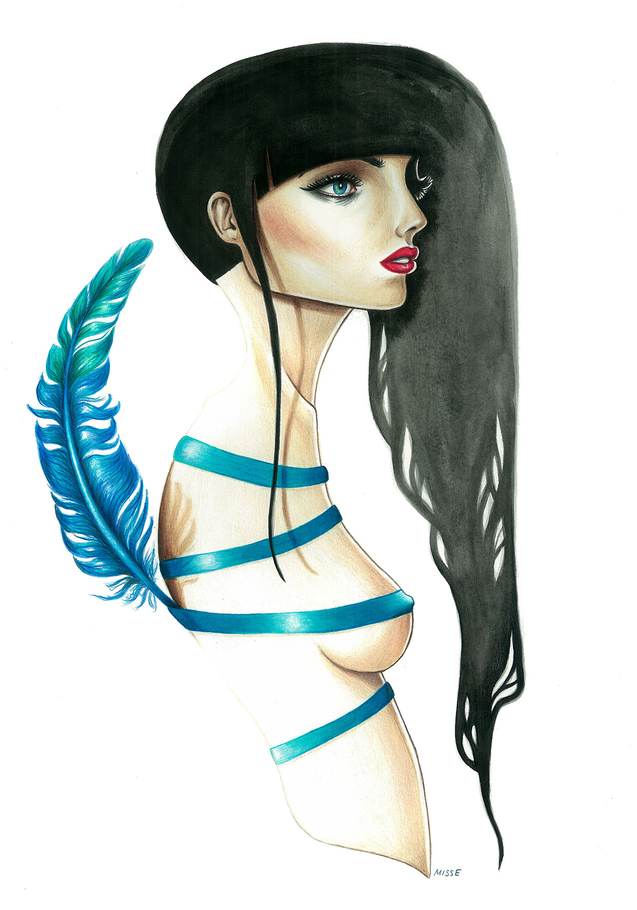 """""""Feather"""" by Miss E"""