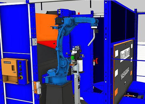 ArcWorld1000 Mach Machines Robotic Weldi