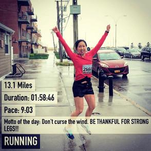 In Ayumi's Shoes: Walking the Walk, Running the Run